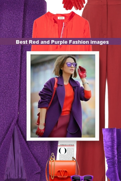Best Red and Purple Fashion images