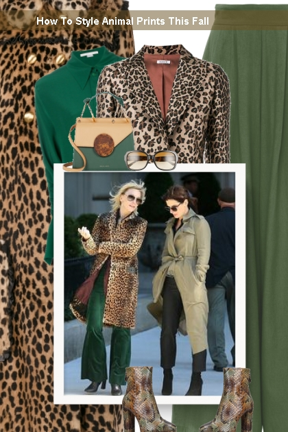 How To Style Animal Prints This Fall - 搭配