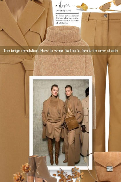 The beige revolution: How to wear fashion's favour- Fashion set