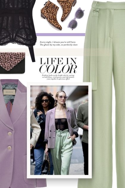 Life in color- Fashion set