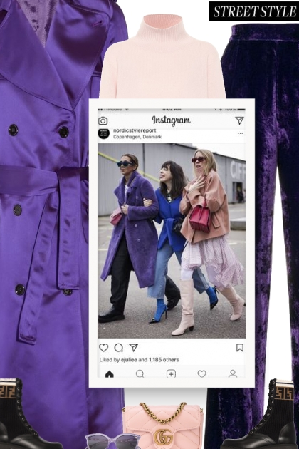 This year trend is all about millennial purple
