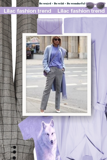 Fall 2019 - Lilac fashion trend