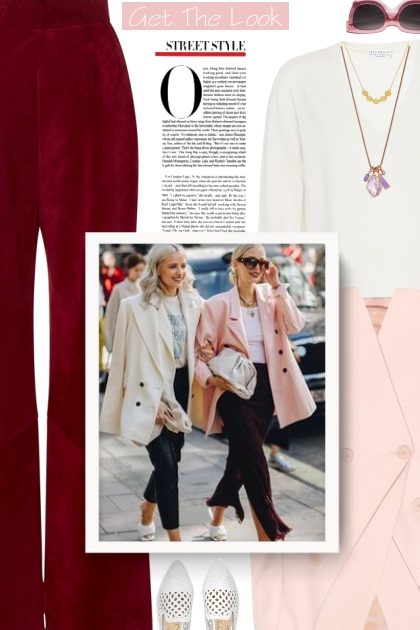 Outfits with Pale Pink Blazers