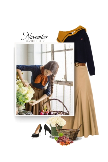 Feminine and Romantic Style For Fall