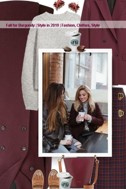 Fall for Burgundy | Style in 2019