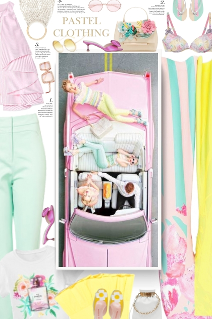 summmer 2020 - pastel clothing