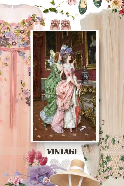 Vintage Florals Look