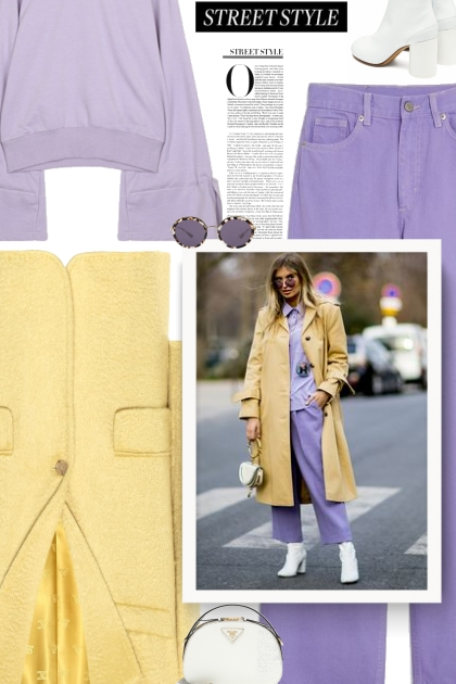 Fall 2019 - Lilac & yellow & white