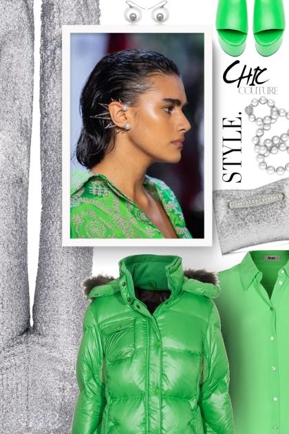Green puffer