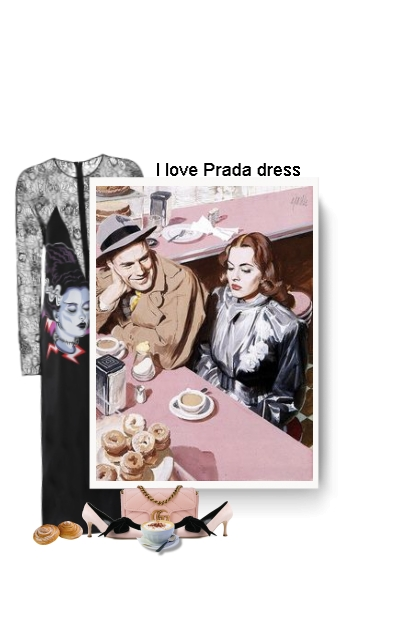 I love Prada dress