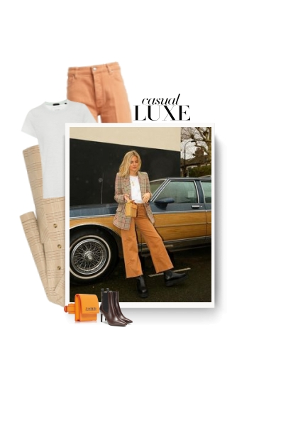 Autumn 2019 - casual luxe