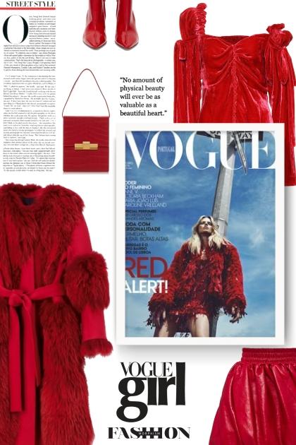 Red Alert!- Fashion set