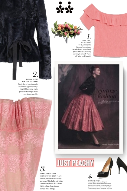 Just peachy - vintage style