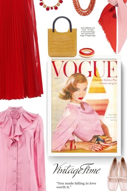vintage - FENDI Pleated nylon midi skirt