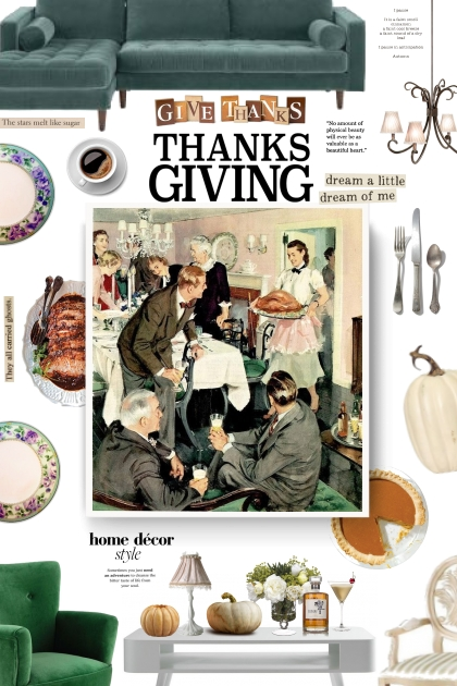 Thanksgiving Day- Fashion set