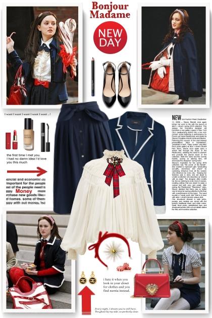 The style of Blair Waldorf- Fashion set