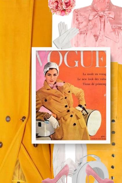 ALEXACHUNG Jacquard satin blouse - Fashion set