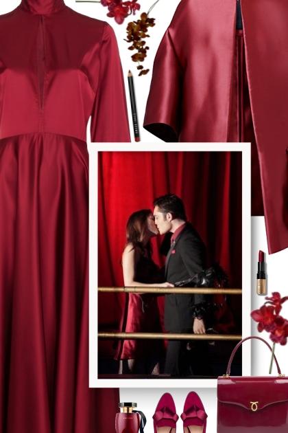 burgundy Love- Модное сочетание
