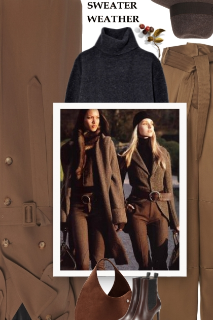 Fall 2019 - black and brown