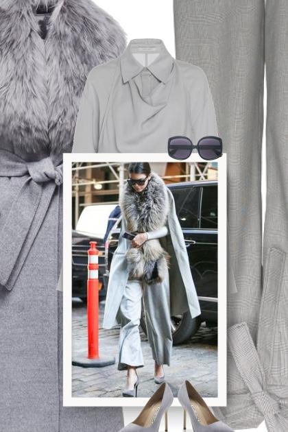 Celebrity style - grey