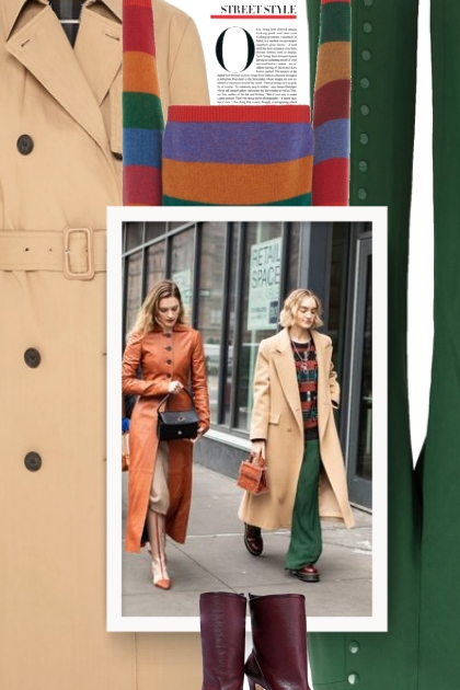 Marlene Birger Trench - street style