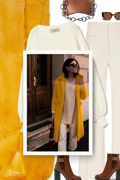 Yellow Coat - winter 20