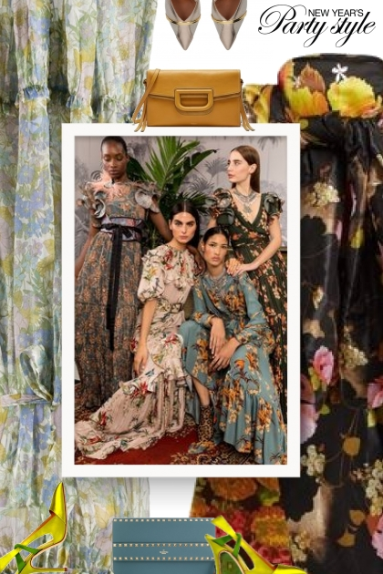 party style - florals