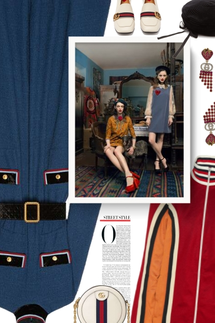 Spring 2020 with Gucci- Fashion set