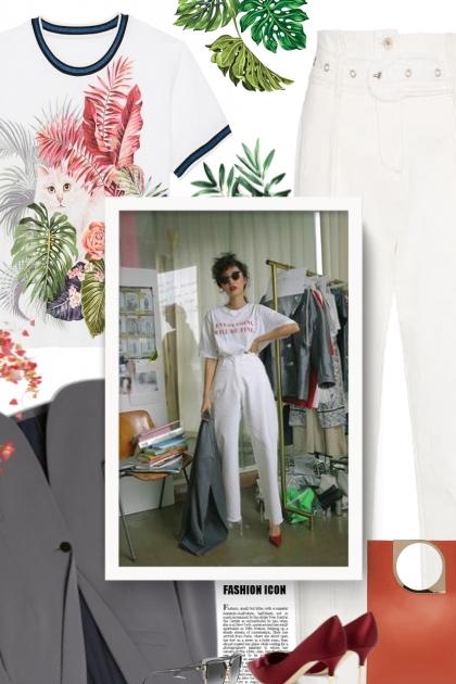 Palm leaf- Combinaciónde moda