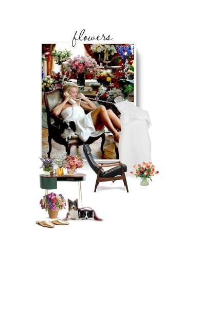 white dress - valentines