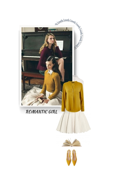 ROMANTIC GIRL- Fashion set