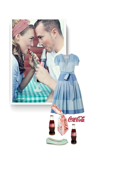 Coca cola is a lovely drink i love