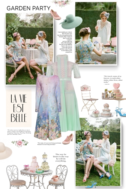 Vintage style - garden party