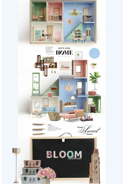Home, sweet pastel home