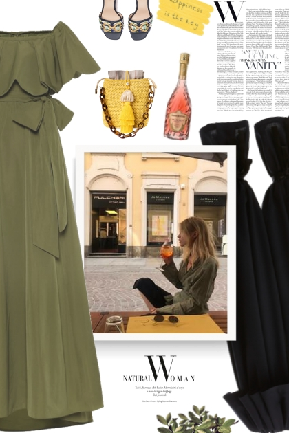 VALENTINO Micro-faille gown dress- Fashion set