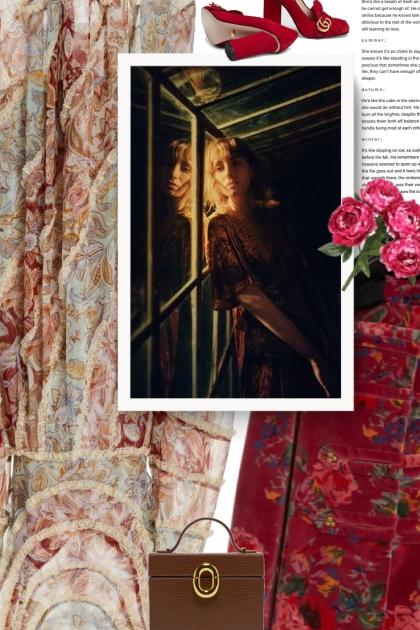 Alix of Bohemia London Raspberry Velvet - Combinazione di moda