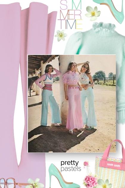 Summer - pretty pastels