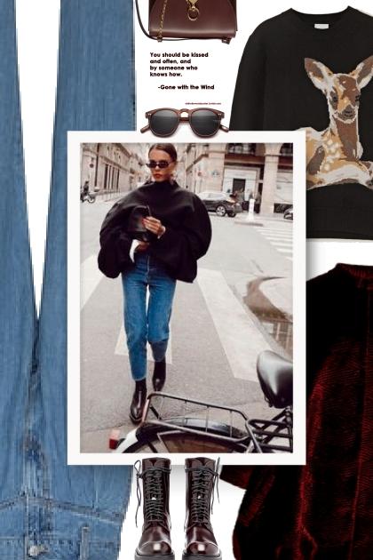 street style - Burberry Sweater