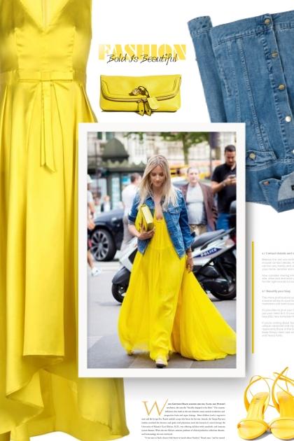 Hand bag Yellow