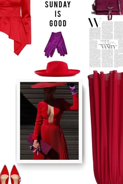 Red hat Gucci- Fashion set