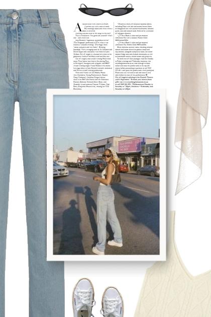 Balmain Vintage-Wash Straight-Leg Jeans