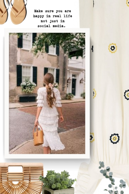 ALEXA CHUNG floral embroidered ruffle dress