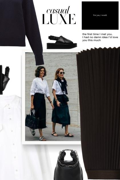 Ann Demeulemeester  - 2020- Fashion set