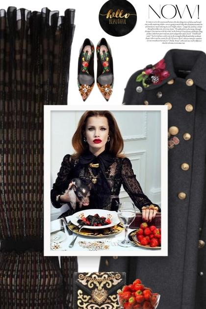 DOLCE & GABBANA Devotion Medium brocade - Fashion set