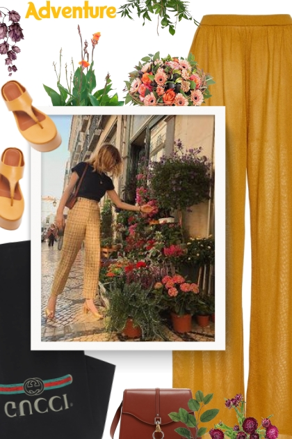 SIMON MILLER orange platform sandal