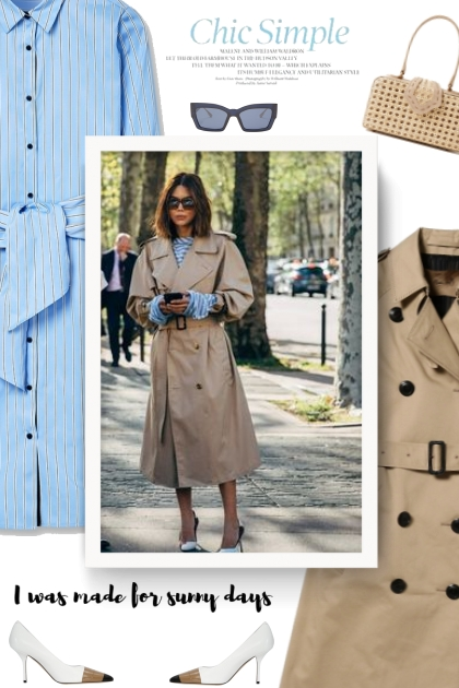 ROOM NO.8 / Big Sleeve Trench Coat