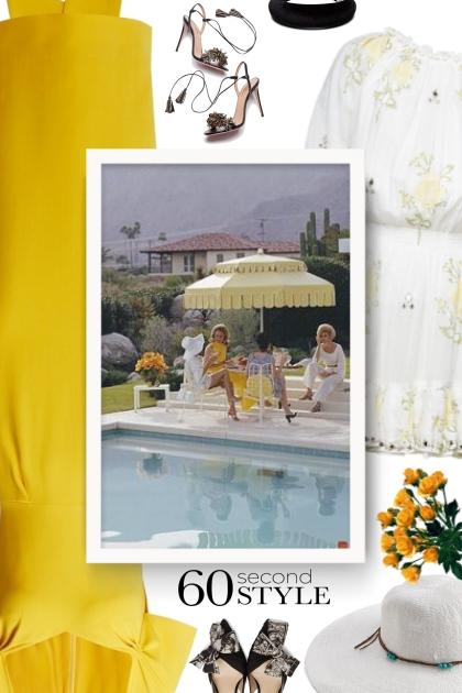Stella McCartney yellow dress