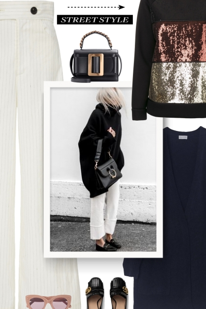 BY MALENE BIRGER black oversized sweater