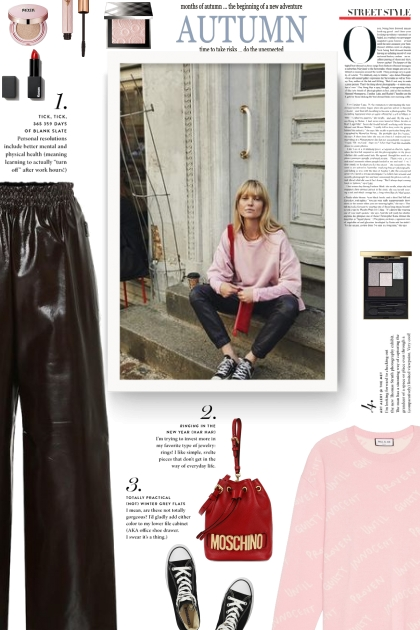 leather pants - bottega veneta