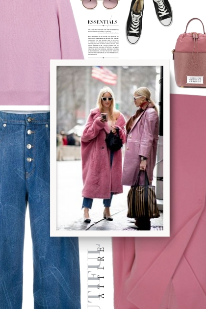 pink and blue jeans - fall 2020